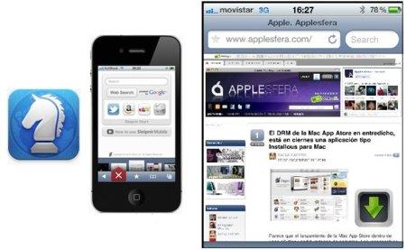 Sleipnir 1.0, otro navegador más para el iPhone