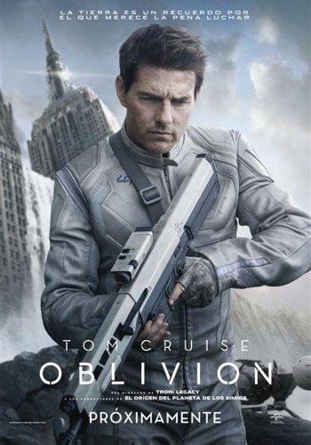 El cartel español de Oblivion