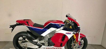 Especulación pura: Un concesionario pide 250.000 euros por una Honda RC213V-S de 2016 a estrenar
