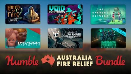 El nuevo Humble Bundle para el apoyo contra los incendios de Australia incluye estos 29 juegos por un mínimo de 22 euros