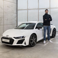 Los jugadores del Real Madrid de baloncesto ya tienen sus nuevos Audi: el R8 de 620 CV de Sergio Llull, la joya