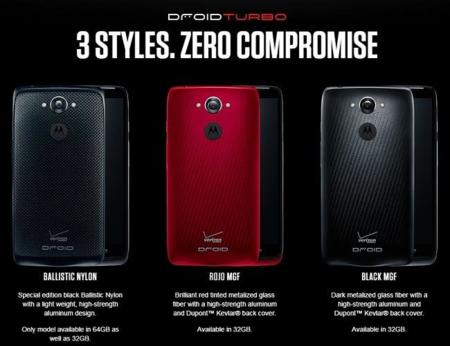 Droid Turbo Colores