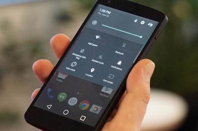 Android L se muestra con nuevos iconos