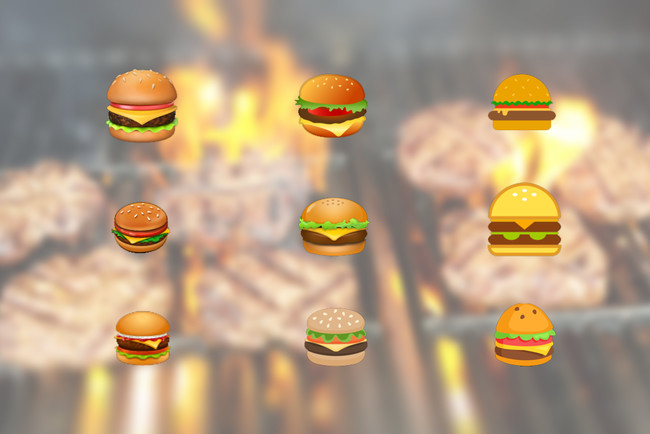 El gran problema del emoji de la hamburguesa es el gran problema de todos los emojis