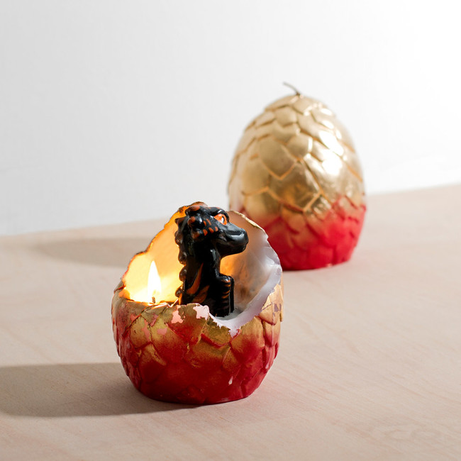 Hatching Dragon Candle 28538