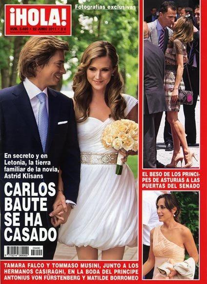 Pero, pero... ¡Qué Carlos Baute se ha casado y no me ha invitado a la boda!