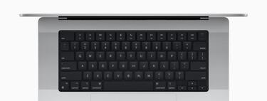 El teclado de los nuevos MacBook Pro tiene ahora un fondo negro para resaltar la retroiluminación de las teclas