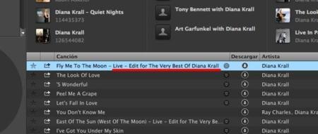 Títulos largos en Spotify