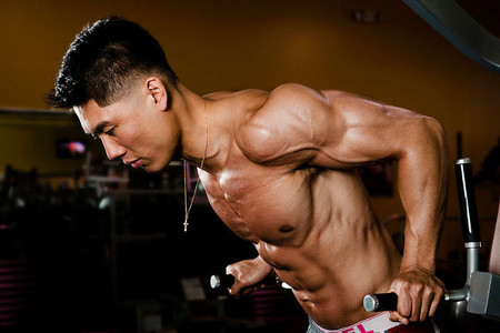 Gana volumen en tus brazos trabajando tríceps