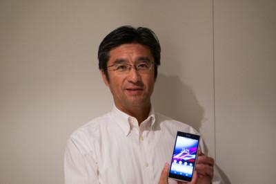 """""""Nuestro foco es la experiencia de usuario, no el sistema operativo"""". Kuni Suzuki, CEO de Sony Mobile"""