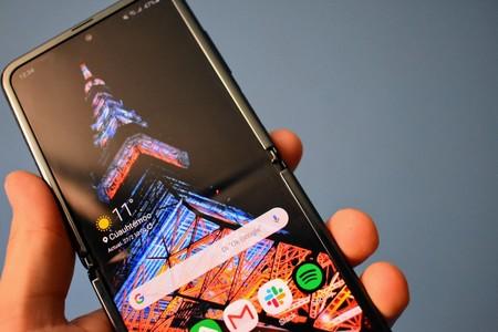 Samsung Galaxy Z Flip Analisis Mexico Pantalla Flexible Marca Doblez