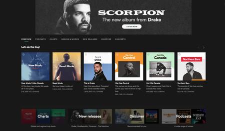 Usuarios de Spotify aseguran haber conseguido un reembolso tras quejarse del spam del nuevo disco de Drake