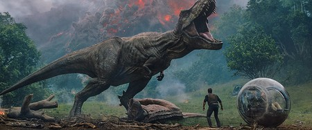 Escena Jurassic World Reino Ccaido