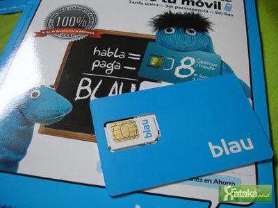 Blau, el 'alter ego' de Simyo con llamadas a 8 céntimos