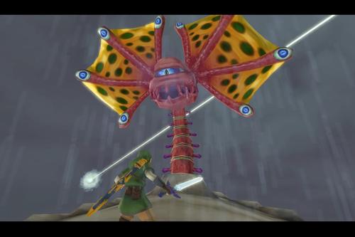 Cómo derrotar a Aléginor en Zelda: Skyward Sword HD