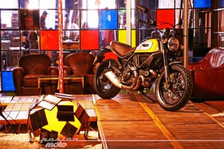 Ducati Scrambler, toma de contacto en Barcelona