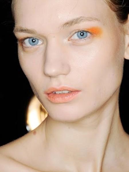 sombras de ojos naranjas