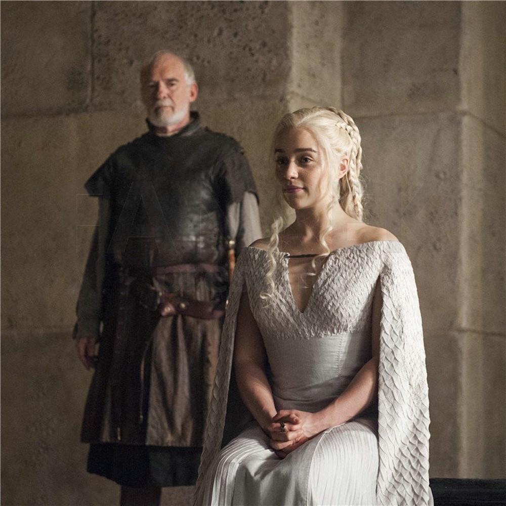 Foto de Daenerys Targaryen vestuario 5 temporada Juego de Tronos (4/7)