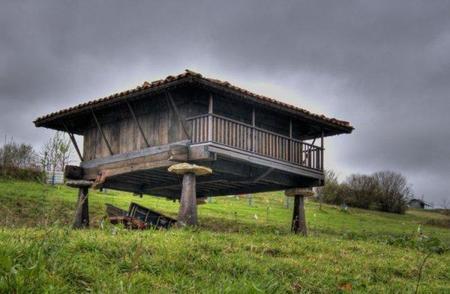 Dormir en ... un hórreo asturiano