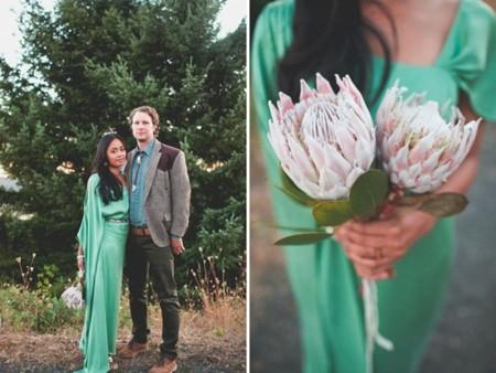 novia verde