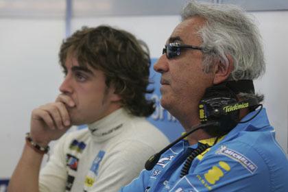 Briatore no descarta el regreso de Alonso a Renault