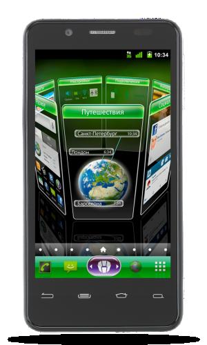 Megafon Mint: el teléfono ruso de Intel