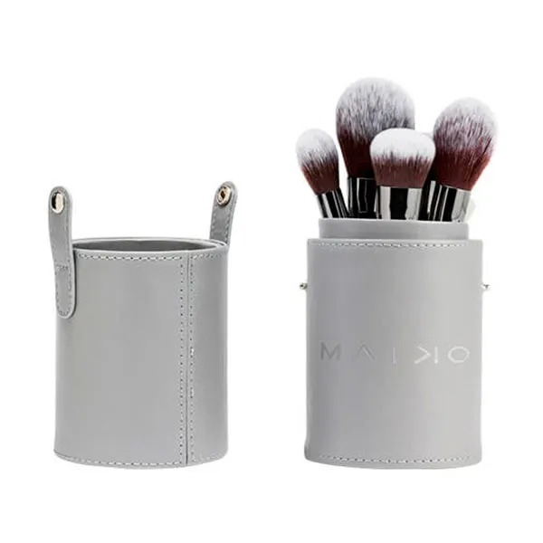 MAIKO Set Luxury Grey Estuche cilíndrico con brochas