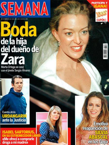 Marta Ortega en Semana