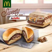 Hamburguesa de Nutella: bomba calórica y escasa en nutrientes para completar tu menú del McDonald's