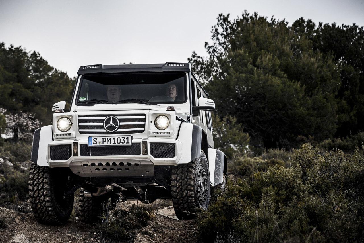 Foto de Mercedes-Benz G 500 4x4², toma de contacto (109/127)