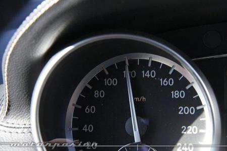 Diferencias entre 110 y 120 km/h en un Mercedes ML 350 CDI