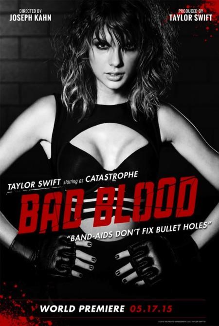 Taylor Swift lo peta a otro nivel con su nuevo videoclip Bad Blood