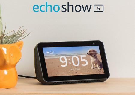 El Echo Show 5 vuelve a estar más barato en Amazon: Alexa, pantalla táctil y Apple Music por 49,99 euros