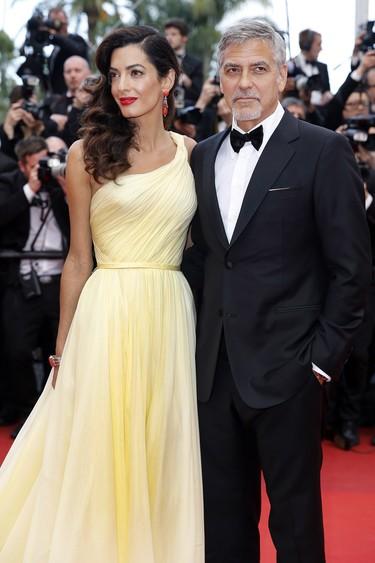 George Clooney y Justin Timberlake, duelo de estilos en el Festival de Cannes