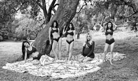 Kardashians Calvin Klein Fall 2018 Ad Campaign Pregnant Khloe 2