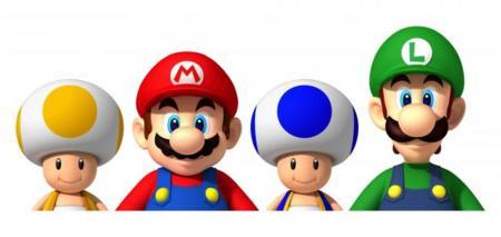 Mario family Galaxy