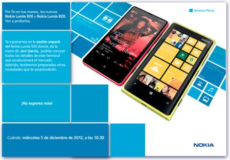 El 5 de diciembre sabremos los precios y fechas de los Lumia en España