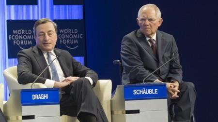 Afecta Disputa Draghi Schaeuble