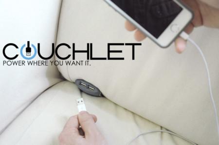 Si siempre quisiste un cargador USB en el sofá, Couchlet tiene algo para ti