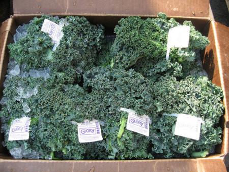 Kales en caja