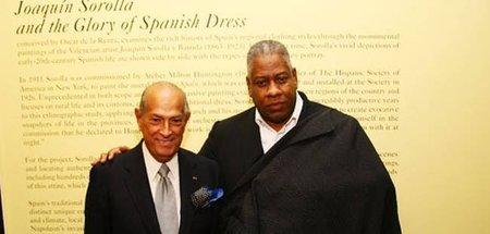 Andre Leon Talley y Oscar de la Renta