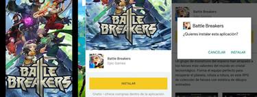 Con Battle Breakers, Epic Games convierte el lanzador de Fortnite en su tienda para Android