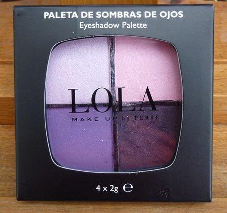 Maquillaje de ojos: aplicamos la paleta de sombras lilas de Lola Make-Up