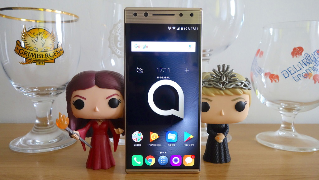 Alcatel cinco Analisis