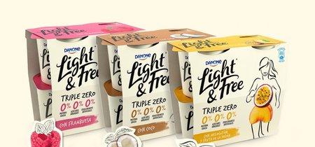 """Light&Free de Danone, el yogur """"triple zero"""": bien en marketing pero pobre en nutrición"""