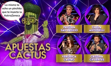 ¿Quién es Cactus de 'Mask Singer 2'? Esta es la famosa a la que apuntan las redes a raíz de las pistas y esa vocecilla tan reconocible