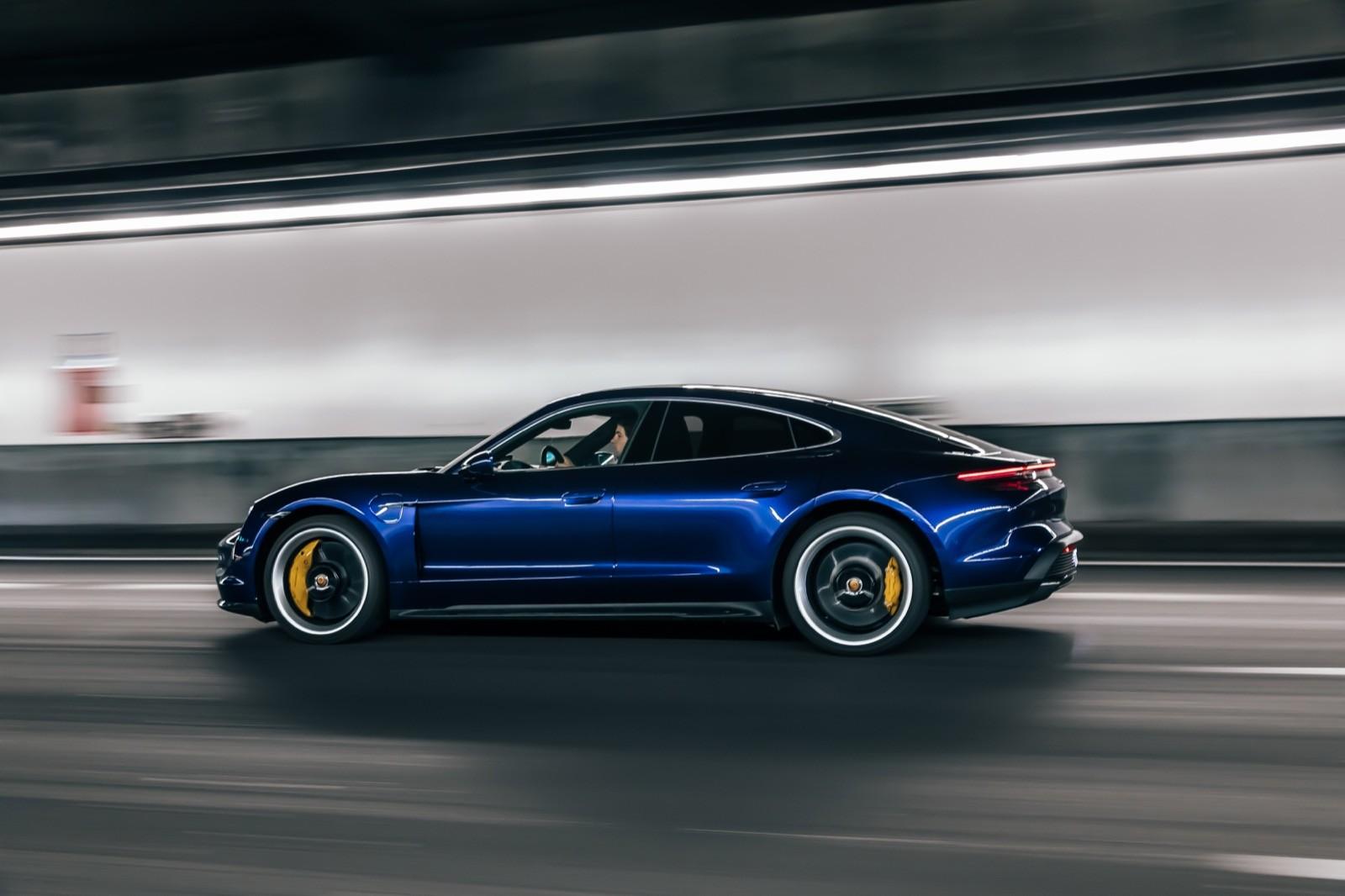 Foto de Porsche Taycan Turbo S (prueba) (5/31)
