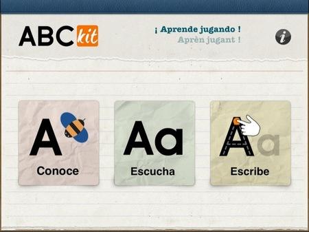 La aplicación ABCKit para que los más pequeños aprendan el alfabeto en el iPad