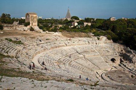 Sicilia, Siracusa: Teatro Griego