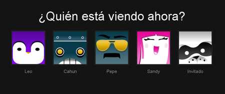 Netflix Nuevos Iconos Perfil